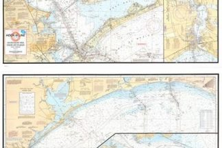 Galveston Bay Boater's Map