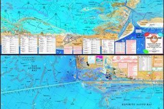 Espiritu Santo Bay Topographical Fishing Map