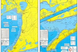 East Galveston Bay Kayak and Wader's Topographical Map