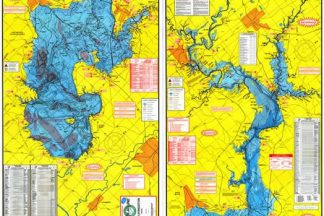 Lake Livingston Topographical Map