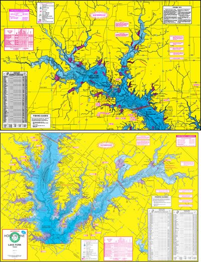 Lake Fork Topographical Map