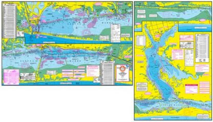 Lower Laguna Madre Topographical Fishing Map