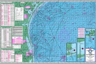 Lower Gulf of Mexico Topographical Map